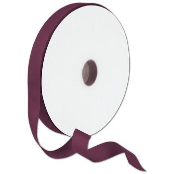 Grosgrain Maroon Ribbon, 7/8