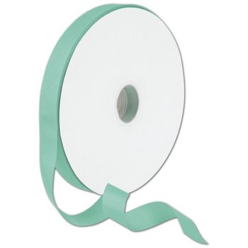 "Grosgrain Tiffany Blue Ribbon, 7/8"" x 100 Yds"