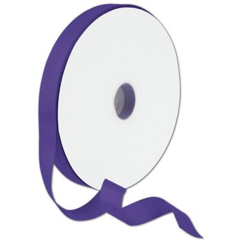 Grosgrain Purple Ribbon, 7/8