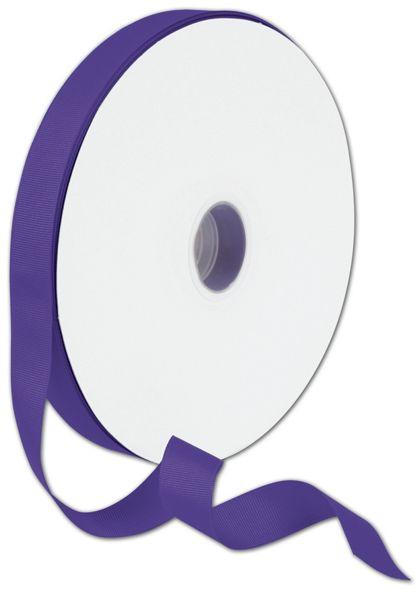 """Grosgrain Purple Ribbon, 7/8"""" x 100 Yds"""