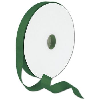 Grosgrain Forest Green Ribbon, 7/8