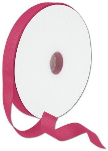 Grosgrain Shocking Pink Ribbon, 7/8