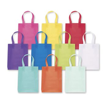Colored Frosted High Density Shoppers Assortment