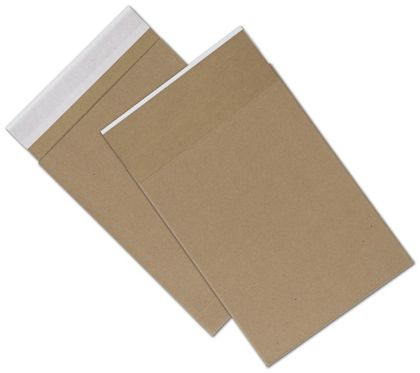 Natural Kraft Unprinted Eco-Mailers, 8 3/4 x 12""