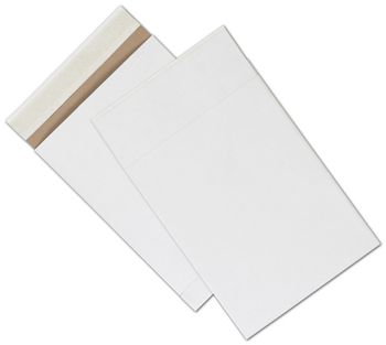 White Unprinted Eco-Mailers, 8 3/4 x 12