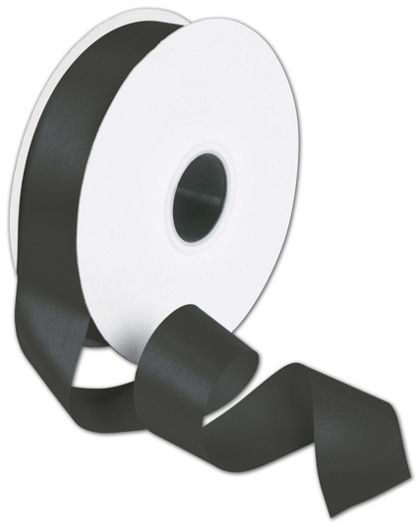 "Double Face Black Satin Ribbon, 1 1/2"" x 50 Yds"