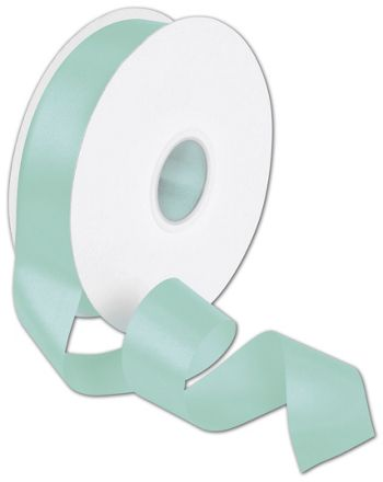 Double Face Tiffany Blue Satin Ribbon, 1 1/2