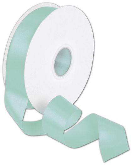 """Double Face Tiffany Blue Satin Ribbon, 1 1/2"""" x 50 Yds"""