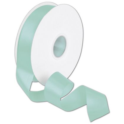 "Double Face Tiffany Blue Satin Ribbon, 1 1/2"" x 50 Yds"