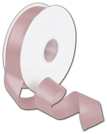 Double Face Rose Water Satin Ribbon, 1 1/2