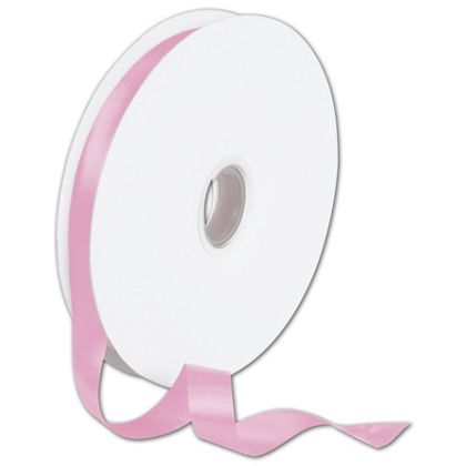 "Double Face Pink Satin Ribbon, 5/8"" x 100 Yds"