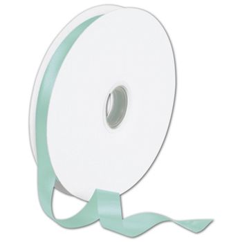 Double Face Tiffany Blue Satin Ribbon, 5/8