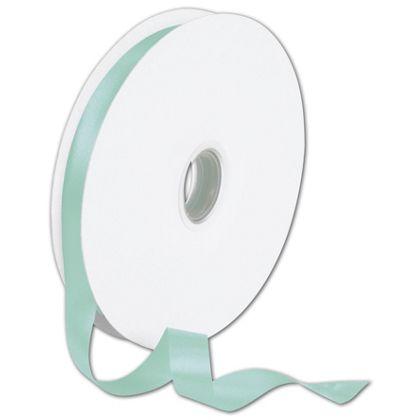 """Double Face Tiffany Blue Satin Ribbon, 5/8"""" x 100 Yds"""