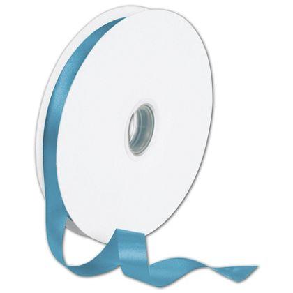 "Double Face Sapphire Satin Ribbon, 5/8"" x 100 Yds"