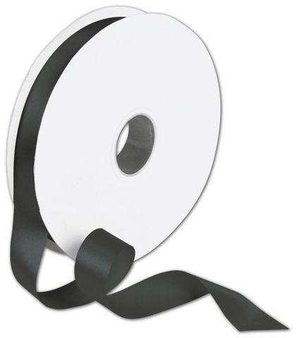 "Double Face Black Satin Ribbon, 7/8"" x 100 Yds"