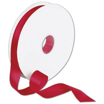 "Double Face Red Satin Ribbon, 7/8"" x 100 Yds"