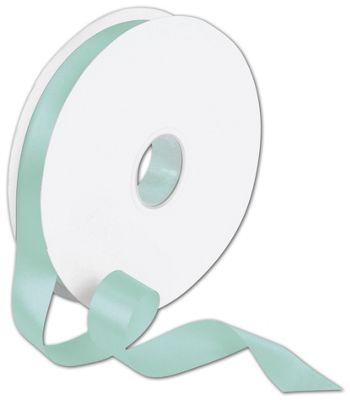 Double Face Tiffany Blue Satin Ribbon, 7/8