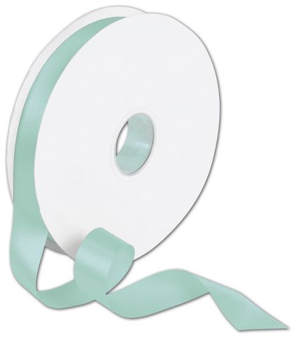 "Double Face Tiffany Blue Satin Ribbon, 7/8"" x 100 Yds"
