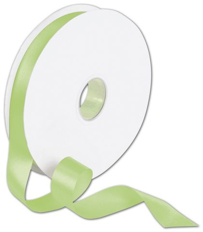 "Double Face Lime Satin Ribbon, 7/8"" x 100 Yds"