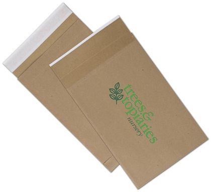 "Natural Kraft Printed Eco-Mailers, 2 Colors, 9 1/2x14 1/2"""