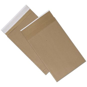 Natural Kraft Unprinted Eco-Mailers, 9 1/2 x 14 1/2