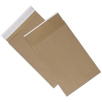 Natural Kraft Unprinted Eco-Mailers, 9 1/2 x 14 1/2""