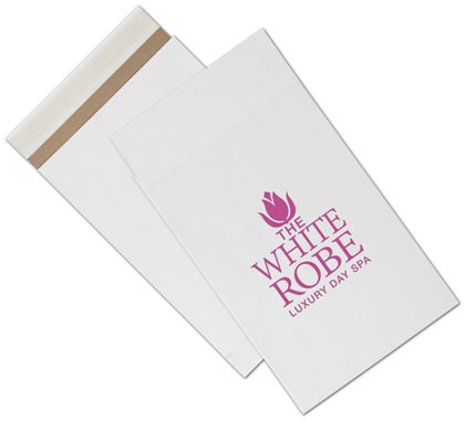 White Printed Eco-Mailers, 1 Color, 9 1/2 x 14 1/2""