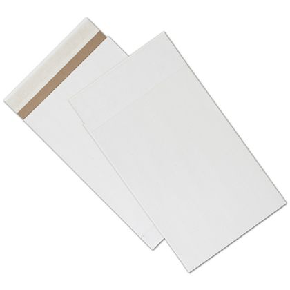 White Unprinted Eco-Mailers, 9 1/2 x 14 1/2""