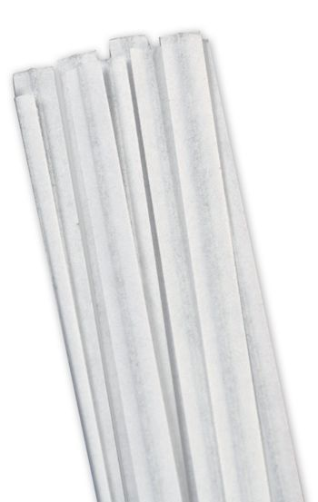 White Paper Twist Ties, 4