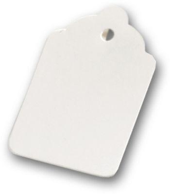 White Tags, 2 7/8 x 1 3/4