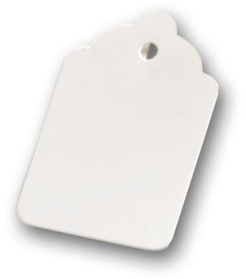 White Tags, 2 3/16 x 1 7/16