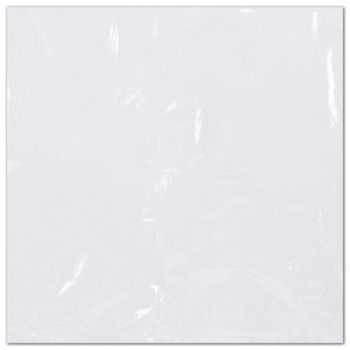 Clear Flat Shrink Bags, 6 x 6