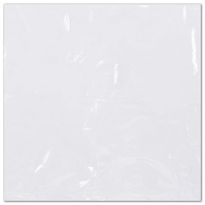 Clear Flat Shrink Bags, 6 x 6""