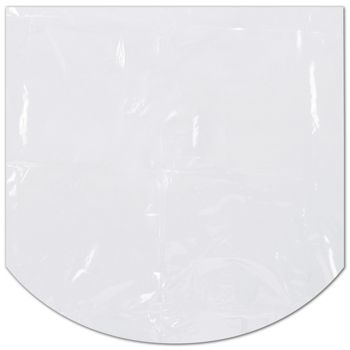 Clear Dome Shrink Bags, 18 x 18