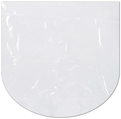 Clear Dome Shrink Bags, 22 x 22""