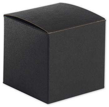 Black Gift Boxes, 3 x 3 x 3