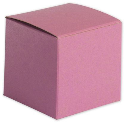"""Pink Gift Boxes, 3 x 3 x 3"""""""