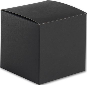 Black Gift Boxes, 4 x 4 x 4
