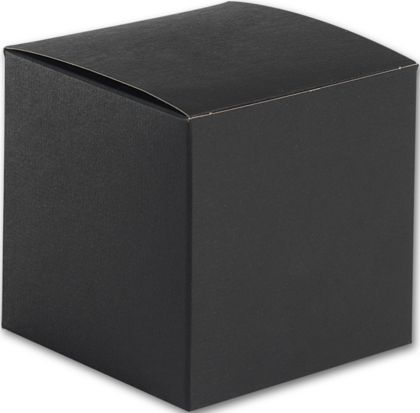 "Black Gift Boxes, 4 x 4 x 4"""