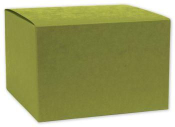 Kiwi Green Gift Boxes, 4 x 4 x 4