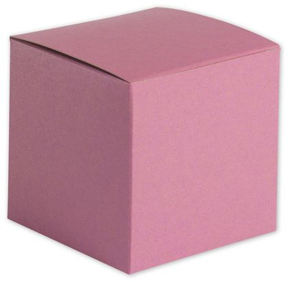 Pink Gift Boxes, 4 x 4 x 4""