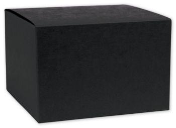 Black Gift Boxes, 6 x 6 x 4