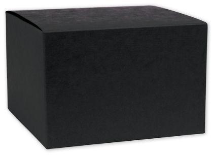 "Black Gift Boxes, 6 x 6 x 4"""
