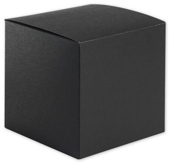 Black Gift Boxes, 6 x 6 x 6