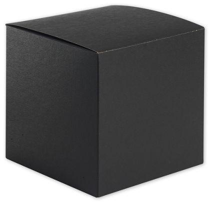 "Black Gift Boxes, 6 x 6 x 6"""