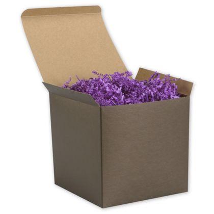 "Espresso Brown Gift Boxes, 6 x 6 x 6"""