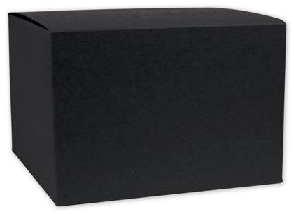 "Black Gift Boxes, 7 x 4 x 3"""
