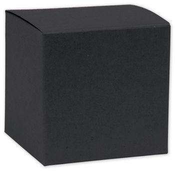 Black Gift Boxes, 8 x 8 x 5 1/2