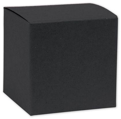 "Black Gift Boxes, 8 x 8 x 5 1/2"""