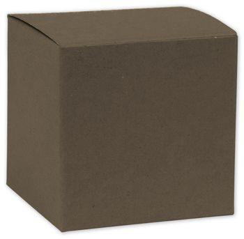 Espresso Brown Gift Boxes, 8 x 8 x 5 1/2